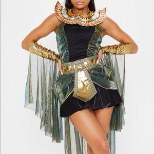 Black Sexy Egyptian Goddess Halloween Costume